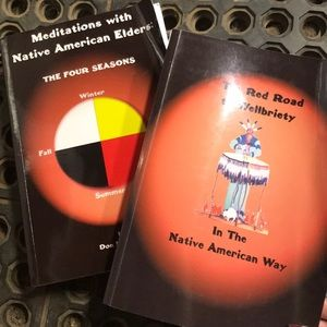 Other - 2 recovery books/ the Native American way